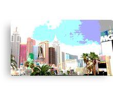 New York New York Hotel Las Vegas Canvas Print
