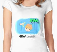B1A4 Jinyoung ~ What's happening for B1A4 in Europe Women's Fitted Scoop T-Shirt