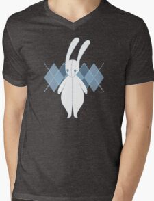 Blue Bunny Mens V-Neck T-Shirt