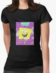 Spongy BOB Womens Fitted T-Shirt