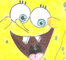 Spongy BOB Sticker