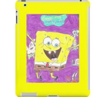 Spongy BOB iPad Case/Skin