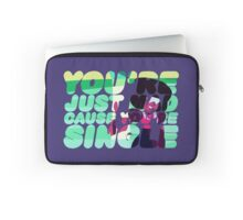 Garnet - You're just mad cause you're single Laptop Sleeve