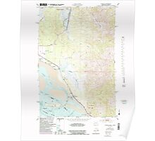 USGS Topo Map Washington Chinook 240498 1949 24000 Poster