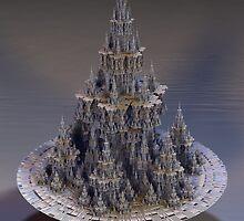 Sierpinski Castle by nclames