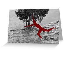A Touch of Art Greeting Card