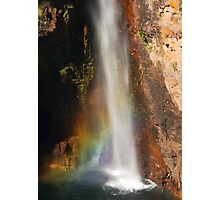 Colour at Tolmer Falls Photographic Print