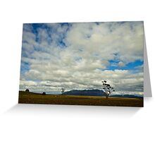 Clouds over Mt Roland Greeting Card