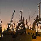 Harbour sunrise by awefaul