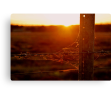 Rustic Sunset Canvas Print