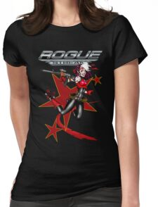 2011 Derby Rogue Streak W Logo RED STAR EDITION Womens Fitted T-Shirt