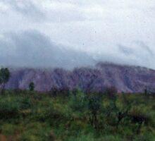 Storm Clouds Over Uluru by TeaCee