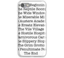 A Series of Unfortunate Events iPhone Case/Skin