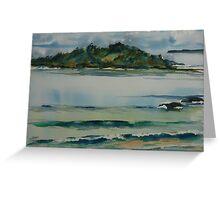 Manyana Beach  - Green Island Greeting Card