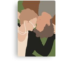 The Fault in Our Stars Minimalist Canvas Print