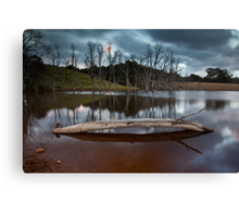 Another Dam Photo Canvas Print