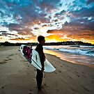 Bondi Beach by David Petranker