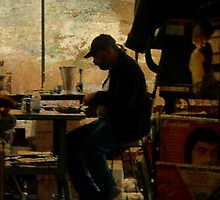 The worker - Lost in the past by Chris Armytage™