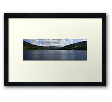 snowdon dawn Framed Print