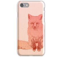 Peach Fox iPhone Case/Skin