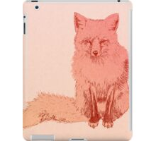 Peach Fox iPad Case/Skin