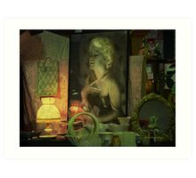 The goodtime girl - Lost in the past Art Print