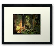 The goodtime girl - Lost in the past Framed Print