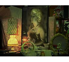 The goodtime girl - Lost in the past Photographic Print