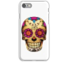 day of the dead - pixel edition iPhone Case/Skin