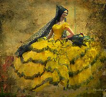 The dancer - Lost in the past by Chris Armytage™