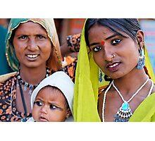Gypsies, Pushkar Photographic Print