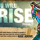 You Will Rise Project, artists speaking out about bullying by Paul Richmond