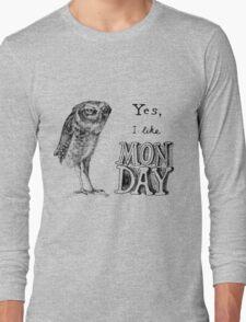 Sarcastic owl Long Sleeve T-Shirt