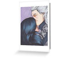 Geralt and Yenn Greeting Card
