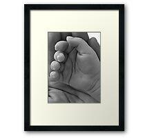 Tiny Hands Framed Print