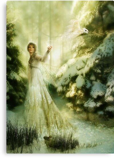 Winterspell, The Fairy Queen of Winter by gingerkelly