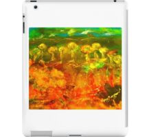 The richness of the Australian landscape (silk paint, raw silk and gutta on silk) iPad Case/Skin