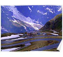 Road to Mount Großglockner Poster