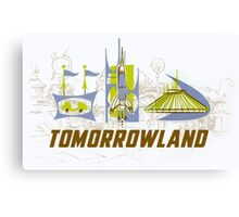 Tomorrowland Canvas Print
