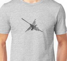 Worn Distressed Look Nazca Hummingbird Unisex T-Shirt
