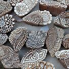 Woodblocks, Jaisalmer by nekineko