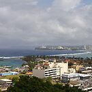 Agana, Guam by Louis Delos Angeles