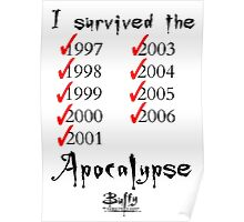 I Survived the Apocalypse Poster