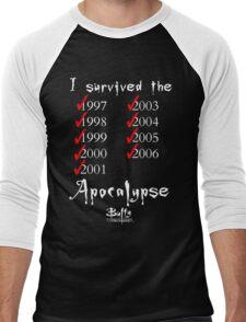 I Survived the Apocalypse Men's Baseball ¾ T-Shirt
