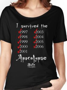 I Survived the Apocalypse Women's Relaxed Fit T-Shirt