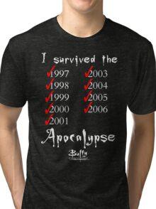I Survived the Apocalypse Tri-blend T-Shirt