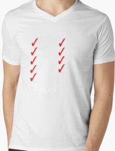 I Survived the Apocalypse Mens V-Neck T-Shirt