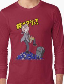 Square Eyed Jak - Game Break No Background Long Sleeve T-Shirt