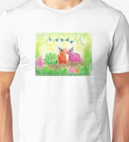 Dino Party Unisex T-Shirt