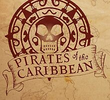 Pirates of the Caribbean Medallion 2 by AliceCorsairs